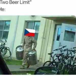 Two beers limit