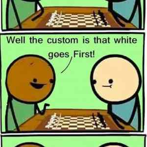 white chess supremacy